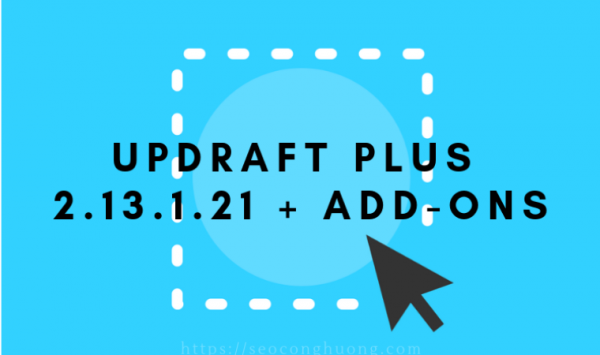 Updraft Plus 2.13.1.21 Add ons
