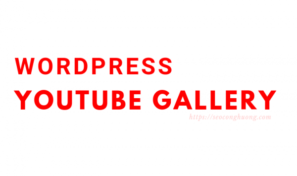 Wordpress Youtube Gallery