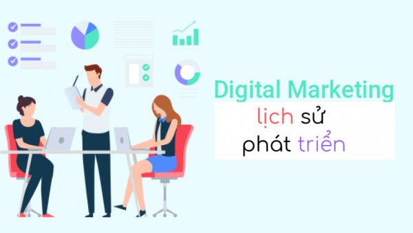 Lich sử Digital Marketing