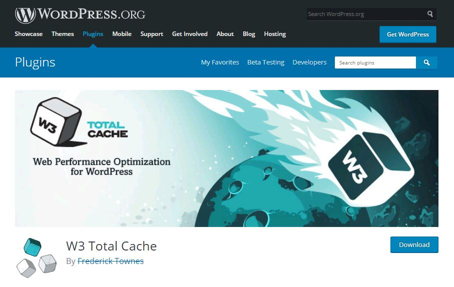 plugin W3 Total Cache tối ưu SEO WordPress