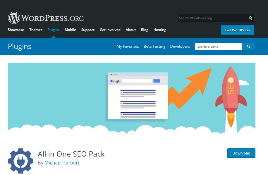 tải plugin All ịn One SEO Pack