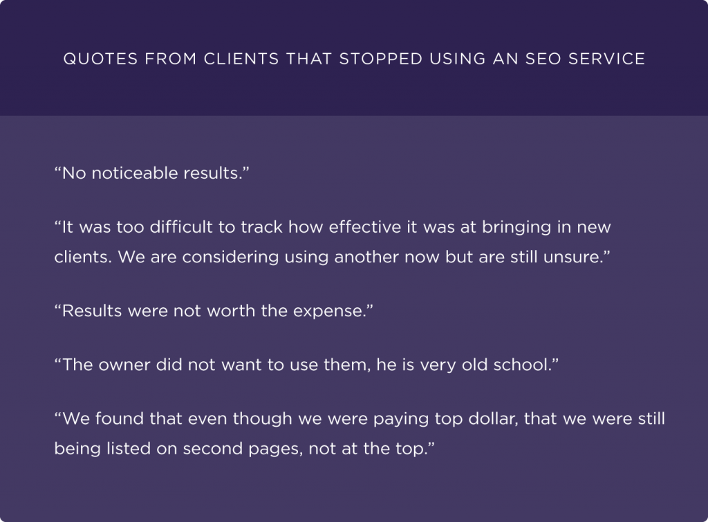 quotes-from-clients-that-stopped-using-an-seo-service