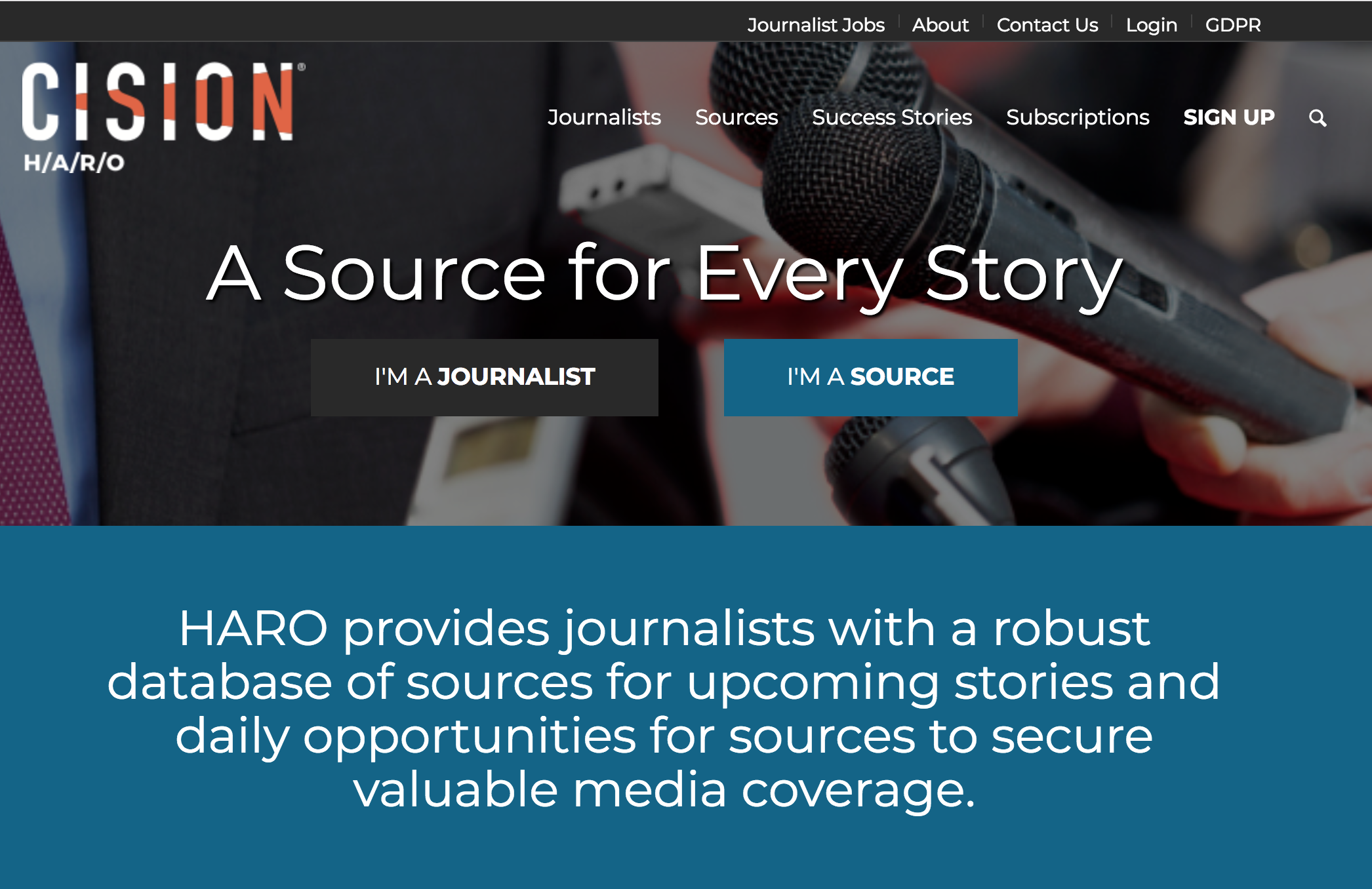 HARO – Help A Reporter Out